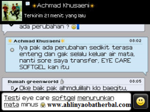 Testimoni Eye Care Softgel