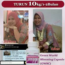Testimoni Slimming Capsule Green World 5